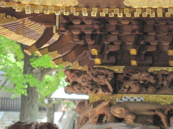 森下1丁目宮元神輿の修理